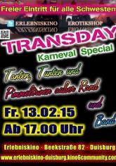Auf geht's zum großen TransDay Karneval Spezial ins Erlebniskino Duisburg!