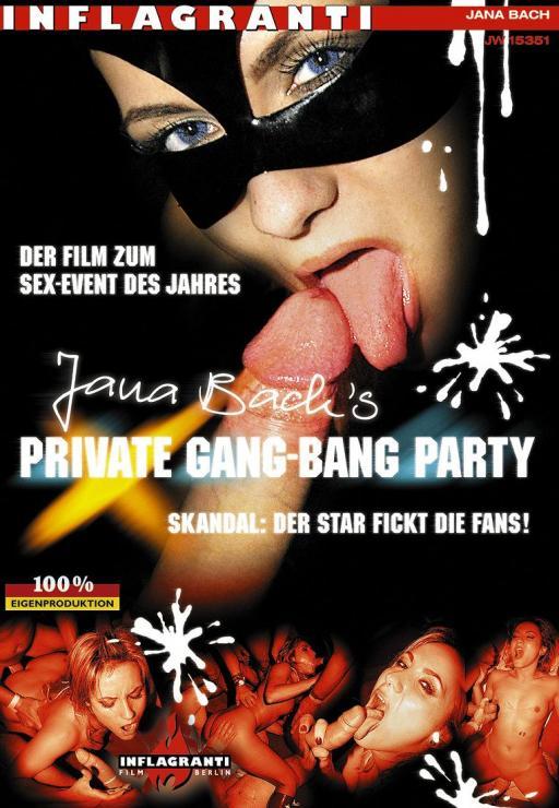 Jana Bachs Private Gang-Bang Party